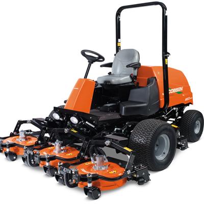 Mesin pemotong rumput untuk area bercontur, tidak rata atau daerah miring