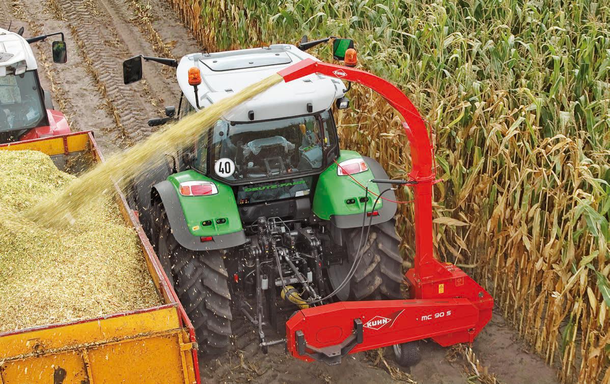mesin pemanen buah jagung