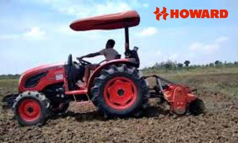 Mesin pengolah tanah atau rotavator